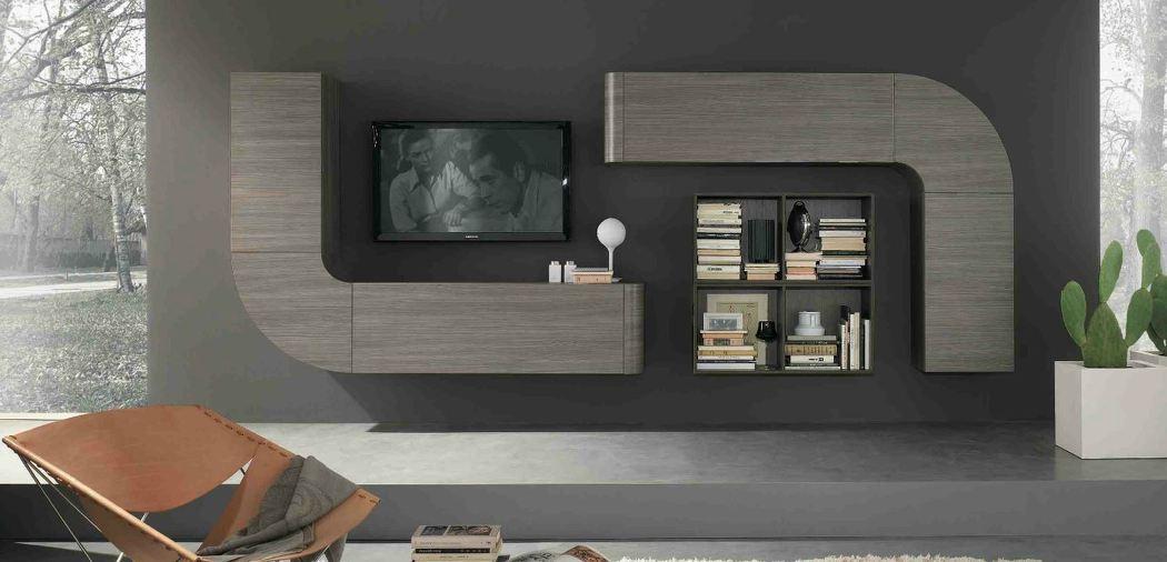 Parete attrezzata moderna – C4 Home Arredamenti Cosenza