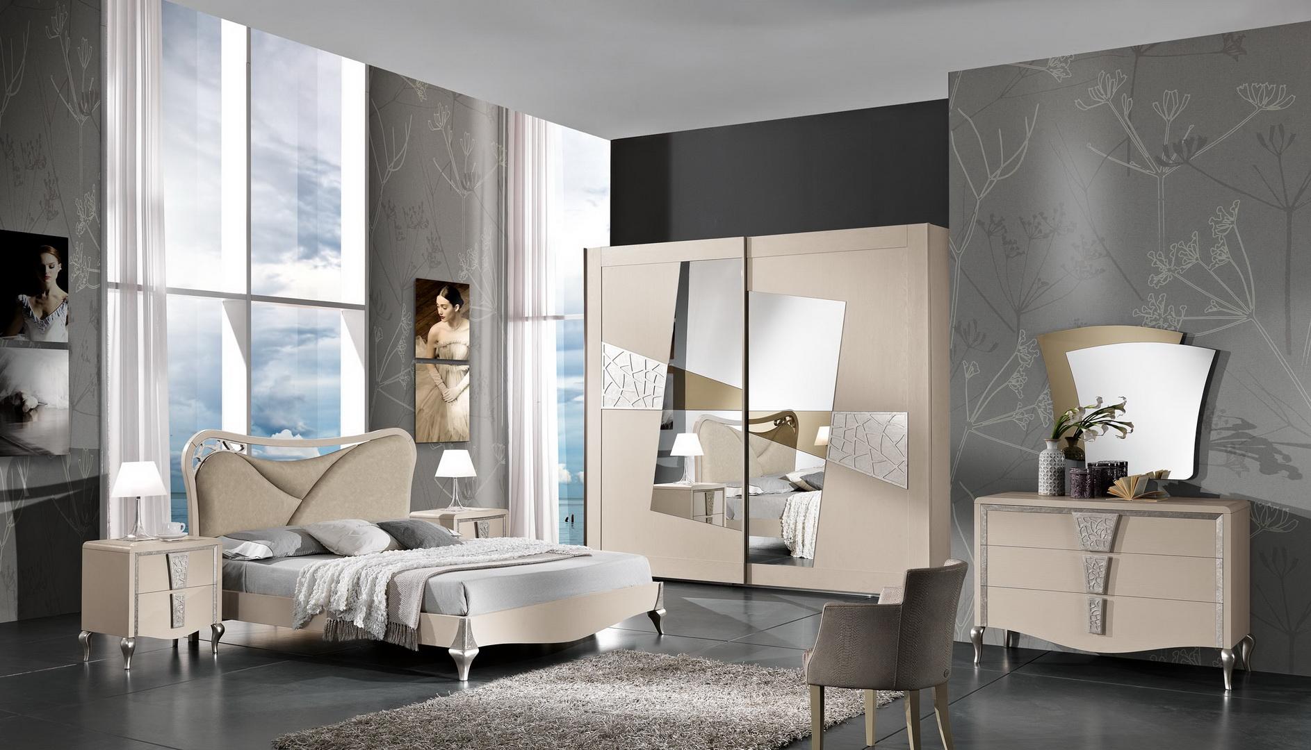 Camera da letto sb10007 c4 home arredamenti cosenza - Camere da letto contemporanee prezzi ...