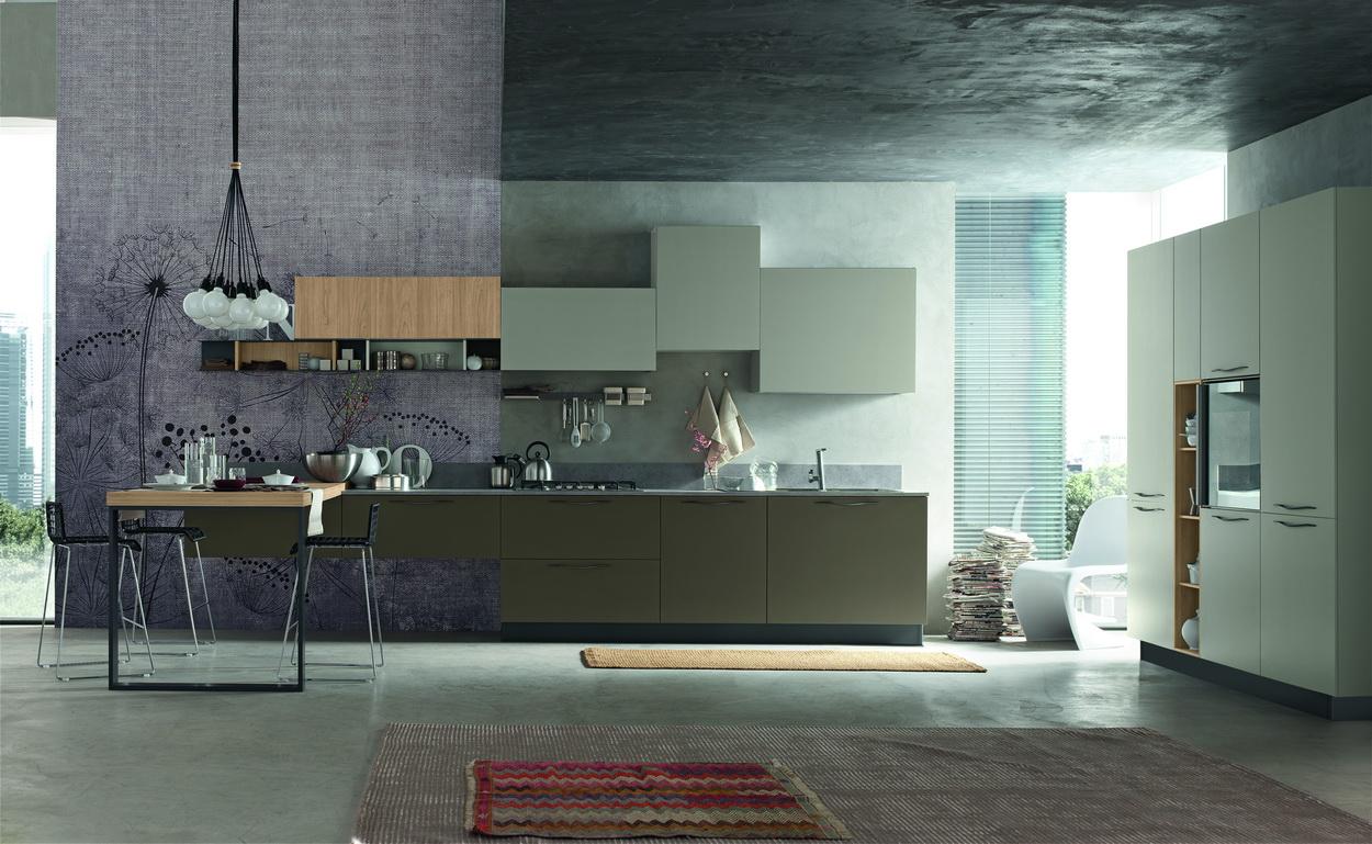 Cucina moderna st10001 c4 home arredamenti cosenza for C4 arredamenti