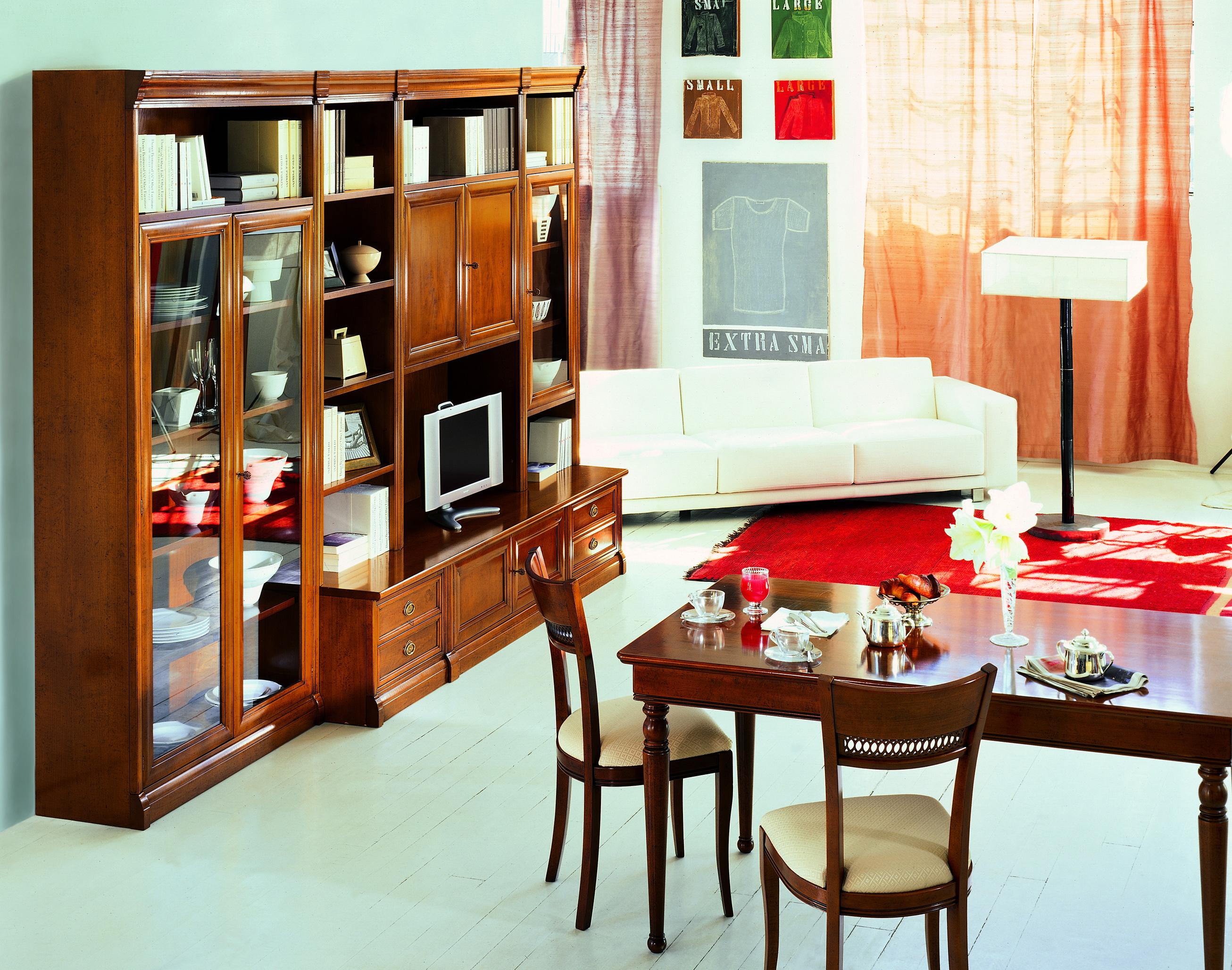 Foto pareti attrezzate classiche pareti attrezzate for Arredamenti cosenza